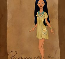 DisneyBound Pocahontas  by Chantelle Janse van Rensburg