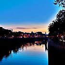 Nightfall On The Liffey by Denise Abé