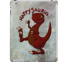 A very happy dinosaur iPad Case/Skin