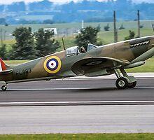 Spitfire PR.XI PL983 G-PRXI by Colin Smedley