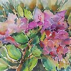 Floral in watercolours by Marilia Martin