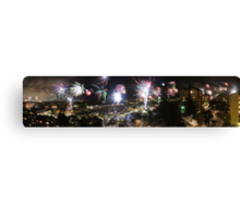 A Swede's view of 2012 New Year's Eve Canvas Print
