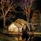 Blue Ridge - Mabry Mill Painted at Night I by Dan Carmichael