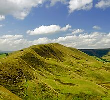 Rushup Edge from Mam Tor by Rod Johnson