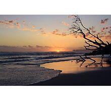 kingscliff beach sunrise ... Photographic Print