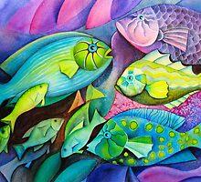 Fantasy Fish  by Karin Zeller