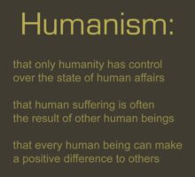 Humanism values by defunct-designs