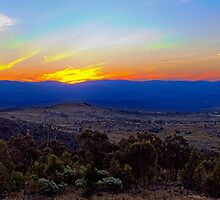 Brindabella Sunset by Brett Norman