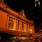 Grand Central at Night by Amanda Vontobel Photography