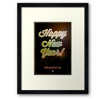 Happy New Year! Framed Print