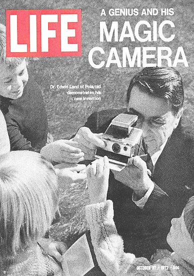 Edwin Land Life Magazine by Maxim Grew