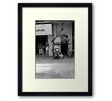 casual day - Ho Chi Minh city. Framed Print