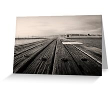 Bolts of the Boardwalk_Narrabeen Greeting Card
