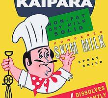 Kaipara Dairy Co-op Chef Card by Darian  Zam