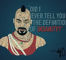 Far Cry 3 - Vaas: The Definition of Insanity by AJDeCaprio
