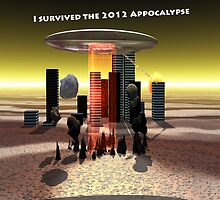 Appocalypse 2012 survival Ipad Cover by Cameron Lundstedt