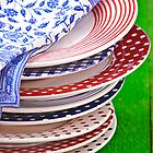 colorful plates by Joana Kruse