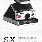 Polaroid SX-70 Alpha One Red Button by Maxim Grew