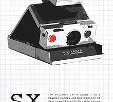 Polaroid SX-70 Alpha One Red Button by Maxim Grew