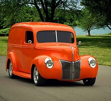 1940 Ford Panel Truck by TeeMack