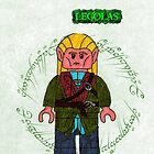 Legolas-Lego Lord of the Rings by ChrisNeal