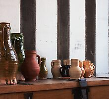 Gainsborough Old Hall-Jugs(1) by jasminewang