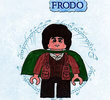 Frodo-Lego Lord of the Rings by ChrisNeal