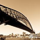 sydney harbour bridge by Nathan Senevirathne