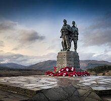 Commando Memorial at Spean Bridge by Gary Eason + Flight Artworks