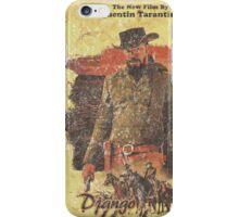 Django Unchained - Poster iPhone Case/Skin