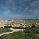 Badlands National Park by Jean Martin