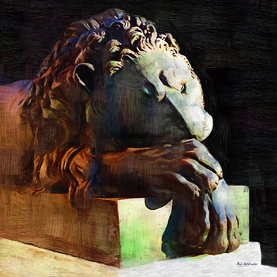 Leo Weeps by RC deWinter