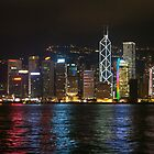 Hong Kong skyline by GillianSweeney