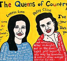 Queens of Country Folk Art by krusefolkart