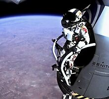 Red Bull Stratos Jump by Bigweegs89