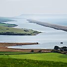 Chesil Beach Overlook  by Susie Peek