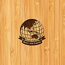 Bamboo Look &amp; Engraved Save the Earth by scottorz