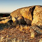 Late Afternoon at Dog Rocks - Batesford, Victoria, Australia by Sean Farrow