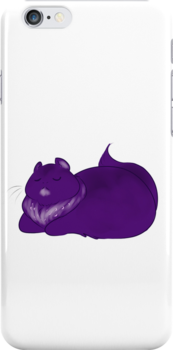 Tootie Fruity - Eggplant Cat by RileyOMalley