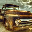 Vintage Ford Pickup Truck by Mal Bray