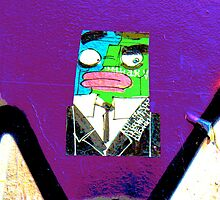 Square Man - Graffiti - Street Art by NicNik Designs