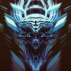 DK Skull blue by Cloxboy