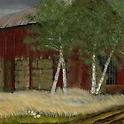 Old Man Walker&#x27;s Barn by  Bob Hall
