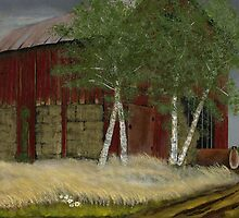Old Man Walker's Barn by © Bob Hall