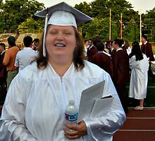 My middle daughter who has special needs graduates from regular high school, June 2012 by Jane Neill-Hancock