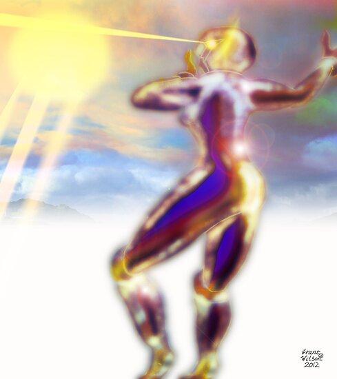 Psychic Beam Warfare by Grant Wilson