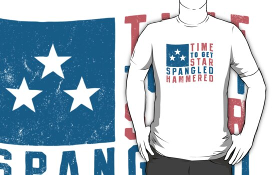 Star Spangled Hammered (Vintage) by Look Human