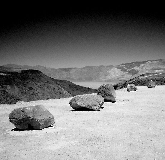 Rocks Over Salt Lake by AliLou75