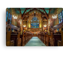 Old South Church in Boston Canvas Print