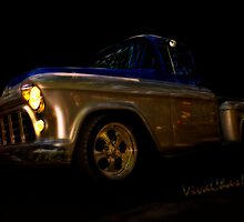 56 Chevy Pickup an it's a Baad One an thas Good by ChasSinklier